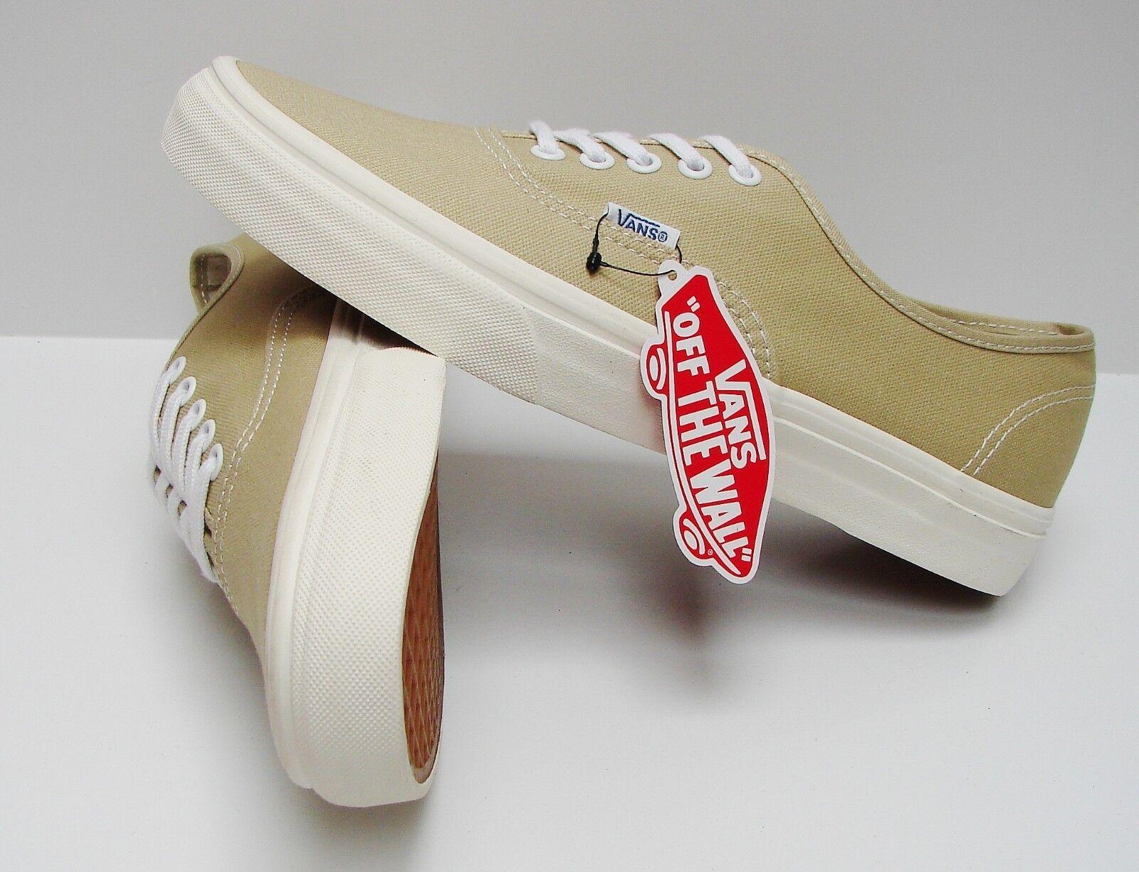5f809e763892 Vans Authentic Vintage Pale Khaki Marshmallow VN-0VOEC7M Men s Size 6.5