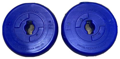 4.4Lb Orbatron Blue Plastic Weight Plates 2