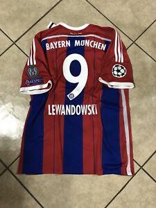 innovative design 826b0 9b67d Details about Germany bayern Munich Lewandowski S,M,LG, jersey original  football shirt