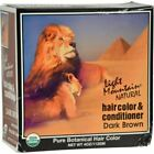 Light Mountain Organic Hair Color and Conditioner Dark Brown - 4 Oz