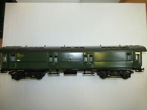 Large-Wilag-Scale-1-Sheet-Metal-Railway-Mail-Wagon-1945-With-Interior-22-3-8in