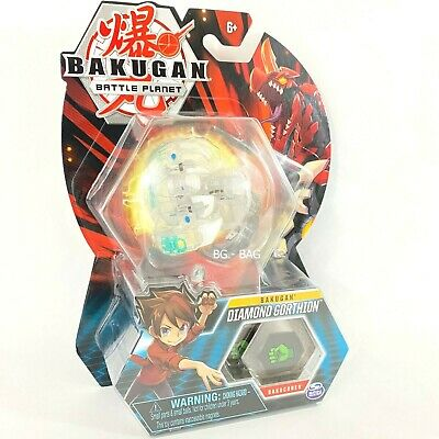 Bakugan DIAMOND GORTHION Battle Planet Brawlers Translucent Wave 6 2019 New