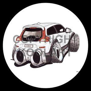 Koolart-4x4-4-x-4-Spare-Wheel-Graphic-Volvo-C30-Sticker-2971