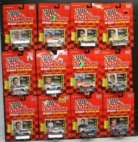 Racing Champions '97 Nascar Lot Of 12 Diecast Stock Cars 1:64