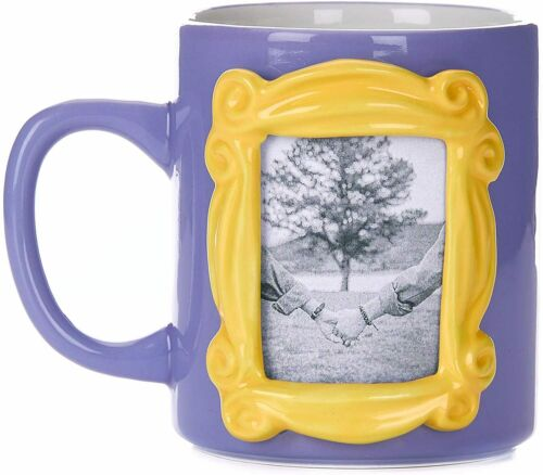FRIENDS TV SERIES MONICAS PHOTO FRAME 3D COFFEE MUG CUP NEW IN GIFT BOX