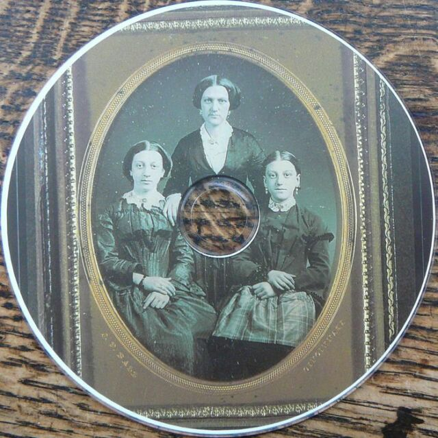 Vintage antique DAGUERREOTYPE Portraits photo social jobs history images 700 DVD