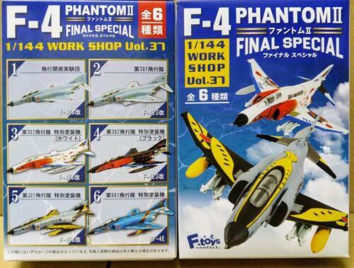 F-Toys 1:144 Final SP Japan JASDF McDonnell Douglas F-4EJ Phantom II Fighter #02