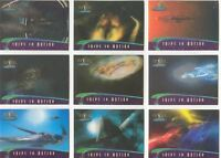 Farscape In Motion Complete Ships In Motion Chase Card Set S1-9