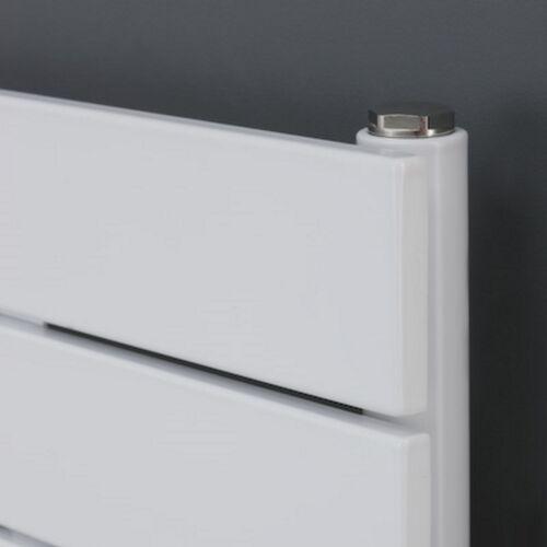 Heizkörper horizontal Flachheizkörper Weiß Paneel horizontal 595x1200mm 744 Watt