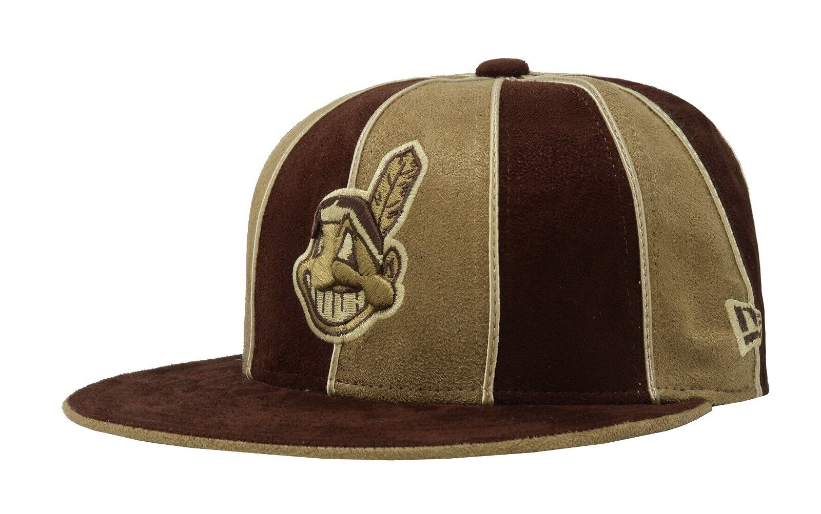 new arrival 3ce0d 8259a ... wholesale new 12 era 59fifty hat mlb cleveland indians mens womens 12  new pack brown fitted