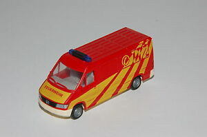 Details about Wiking 1:87 H0 Mercedes Benz T1n Sprinter Fire Brigade  Ambulance Car