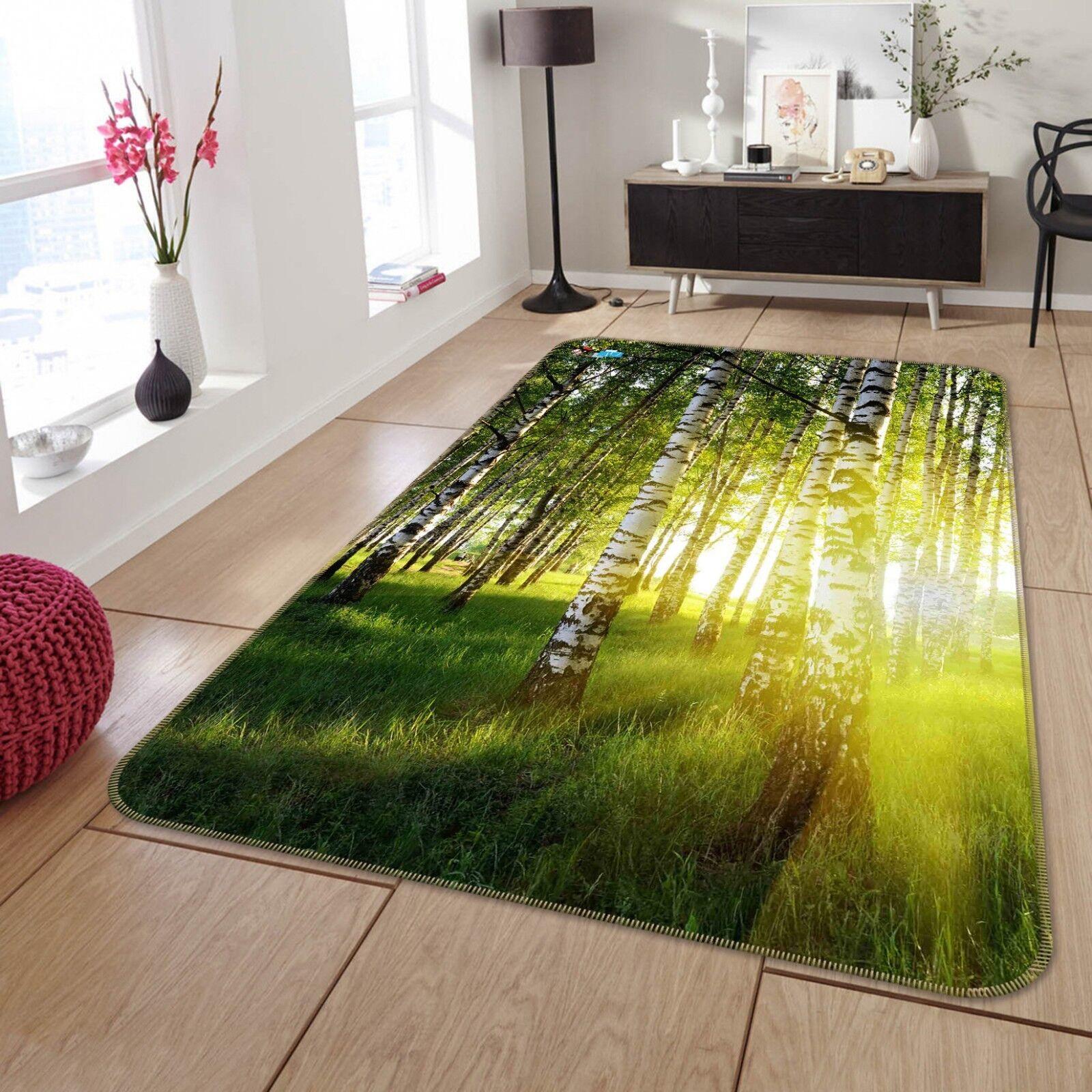 3D Forest Sunshine 688 Non Non Non Slip Rug Mat Room Mat Quality Elegant Photo Carpet UK 4a905d