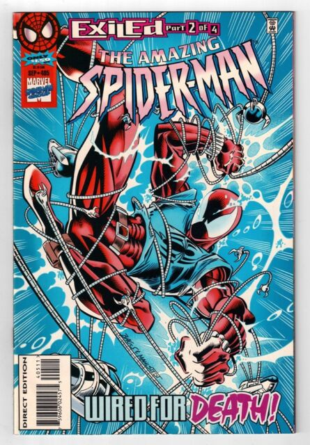 Amazing Spider-Man #405 (Sep 1995, Marvel) Scarlet Spider appearance   VF- (7.5)