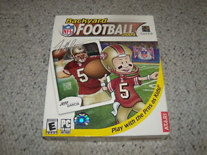 Backyard Football 2004 backyard football 2004 new and sealed in big box jeff garcia version