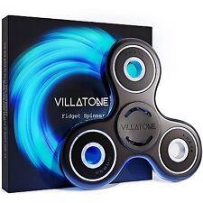 VILLATONE Black Fidget Spinner Professional Si3N4 Hybrid Ceramic Bearing Toy