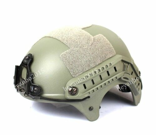 CS Game Sandy Navy Seal IBH Action Version Helmet for Airsoft Military