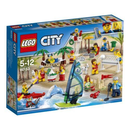 Lego 60153 Stadtbewohner Ein Tag am StrandLego City Spielzeug ab 5 Jahre