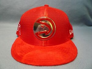 low priced fe41c 25e29 Image is loading New-Era-9Fifty-Atlanta-Hawks-On-Court-Collection-