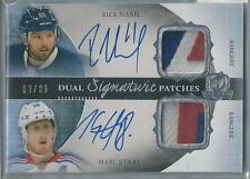 2013-14 UPPER DECK THE CUP RICK NASH / MARC STAAL DUAL AUTO DUAL PATCH 03/35!!
