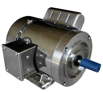 Gator Stainless Steel AC Motor Washdown Duty 3//4 HP 3600RPM 56C TEFC On Sale!!
