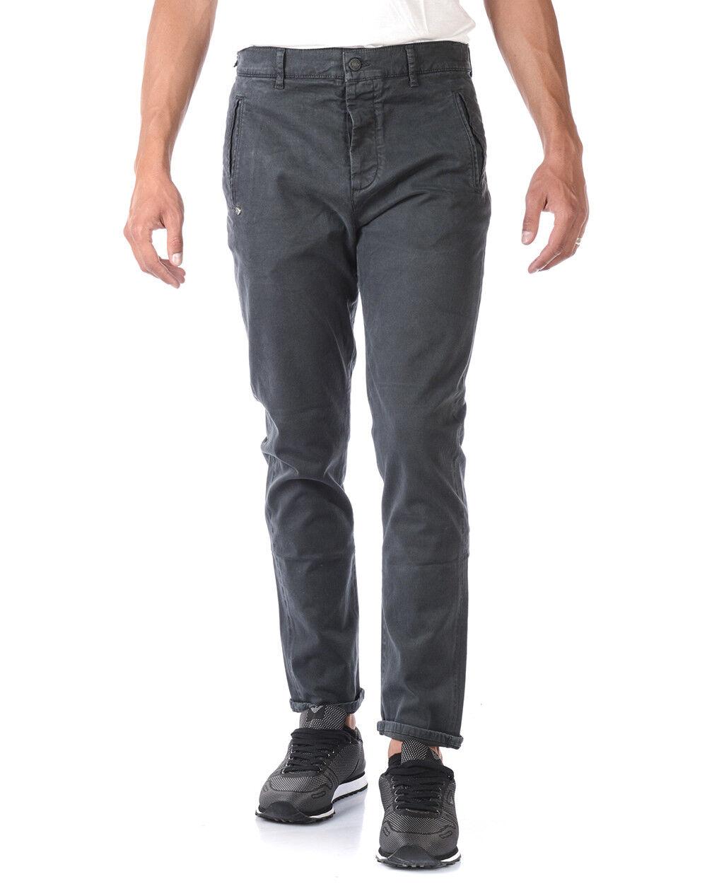 Jeans Daniele Alessandrini Jeans Cotone men grey PJ5650L1003706 10