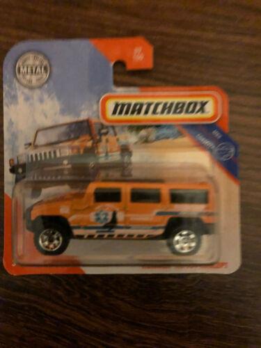 2020 langosta Matchbox h2 SUV concept MBX coastal # 89//100 OVP Sealed