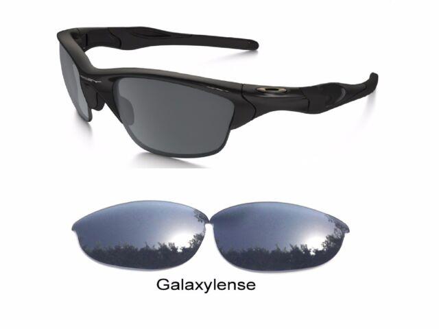 68066e7569 Galaxy Replacement Lenses For Oakley Half Jacket Sunglasses Black Color