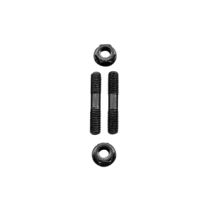 CXRacing Exhaust Manifold Header Stud Bolt for Nissan KA24E Engine 2PCS
