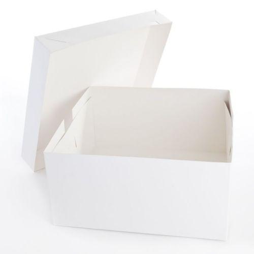 Boîtes de gâteau Pouces blanc (2 pièces) 8