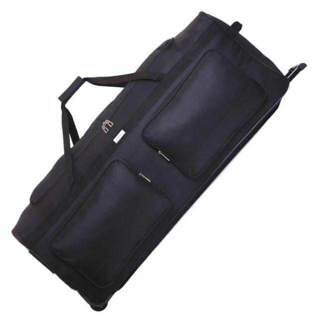 1f4ba2af4 Extra Large 102cm XXL Travel Wheeled Holdall Luggage Trolley Suitcase Case Bag  for sale online   eBay