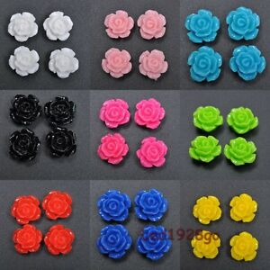 Hot-10-15-20-Pcs-Gorgeous-Rose-Flower-Coral-Resin-Spacer-Beads-10-12-15mm-U-Pick