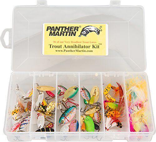 NEUER Panther Martin Trout Kit, 36 Stück FREE2DAYSHIP TAXFREE