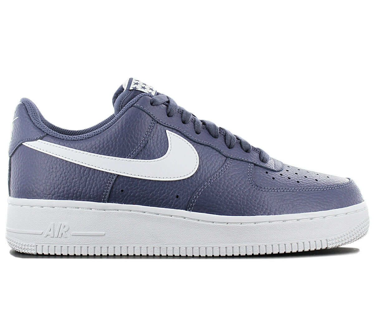 Nike Air Force 1 One Low 07 Men's Sneakers shoes Aa4083-401 Leather bluee New