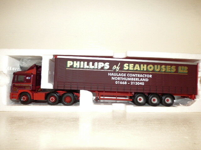 Corgi MAN F2000 Curtainside Phillips of Seahouses Ltd  REF CC12012