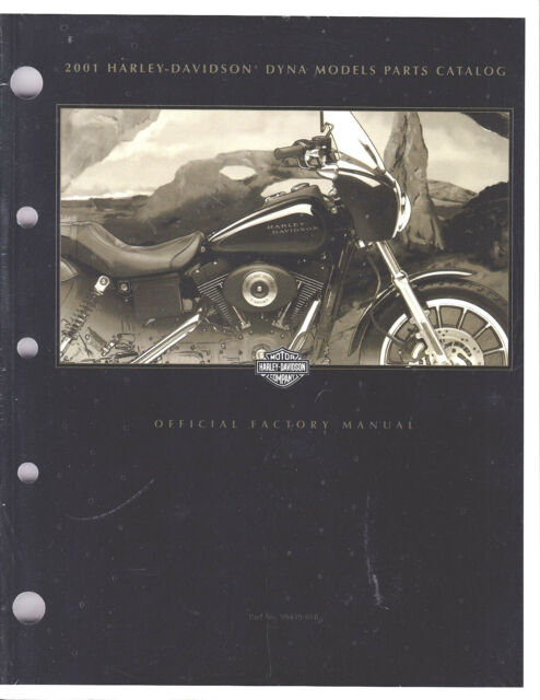 2001 Harley Dyna Fxd Parts Part U0026 39 S Part Manual Catalog Book