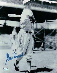 Gino-Cimoli-Signed-8X10-Vintage-Photo-Autograph-Brooklyn-Dodgers-Pose-Auto-COA