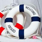 Wall Hangging Mediterranean Nautical Decor Boat Ring Life Buoy Preserver 14cm