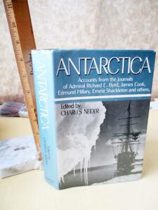ANTARCTICA-1972-Various-Authors-Edited-by-Charles-Neider-1st-Printing-DJ