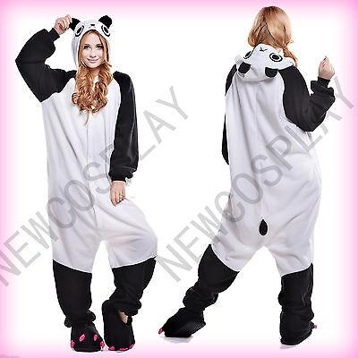 New Adult Costume Cosplay Anime Animal Kung Fu Panda Pajamas Onesie Sleepwear