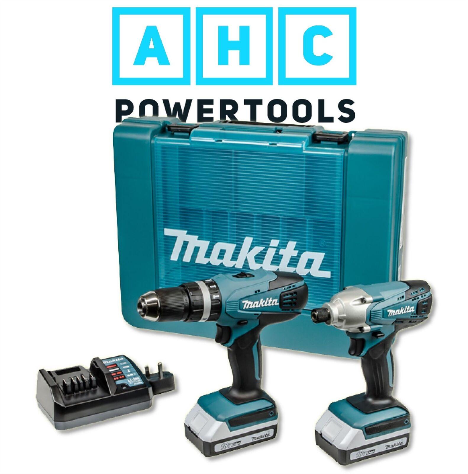 Makita DK18015X1 18V 2x1.3Ah Li-ion Twin Combo G-Series Kit