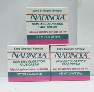Nadinola Skin Discoloration Fade Cream Extra Strength 2.25 ...