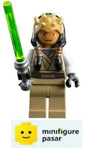 sw332 Lego Star Wars 7964 - Eeth Koth Minifigure with Lightsaber - New