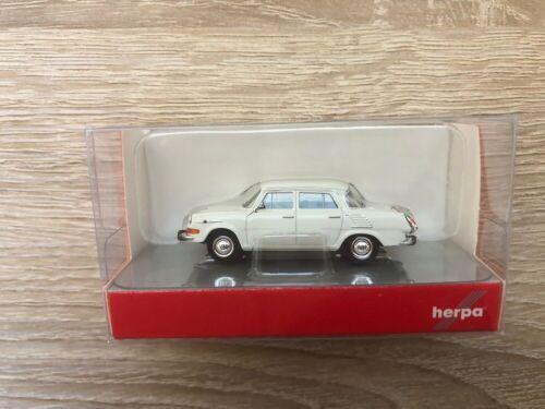 1//87 skoda 1000 MB-gris blanco-nuevo Herpa 024716-004