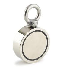 75mm Neodymium Recovery Magnet Metal Detector Treasure Hunting 400kg Pull