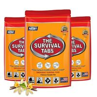 Disaster Survival Food Supply.sealed Meals.bug Out Eating.bunker Family Gear