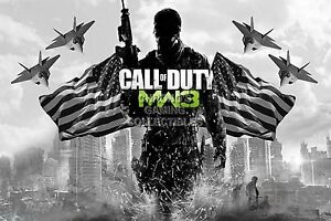 Rgc Huge Poster Call Of Duty Modern Warfare 3 2 Ps4 Ps3 Xbox One