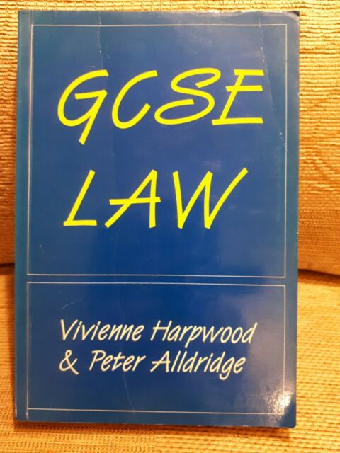(Very Good)-GCSE Law (Paperback)-Alldridge, Peter,Harpwood, Vivienne-1851850546