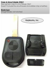 BMW LX8FZV remote clicker transmitter fob uncut key blade replacement case ONLY