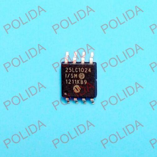 1PCS  IC MICROCHIP SOP-8W 25LC1024-I//SM 25LC1024T-I//SM 25LC1024