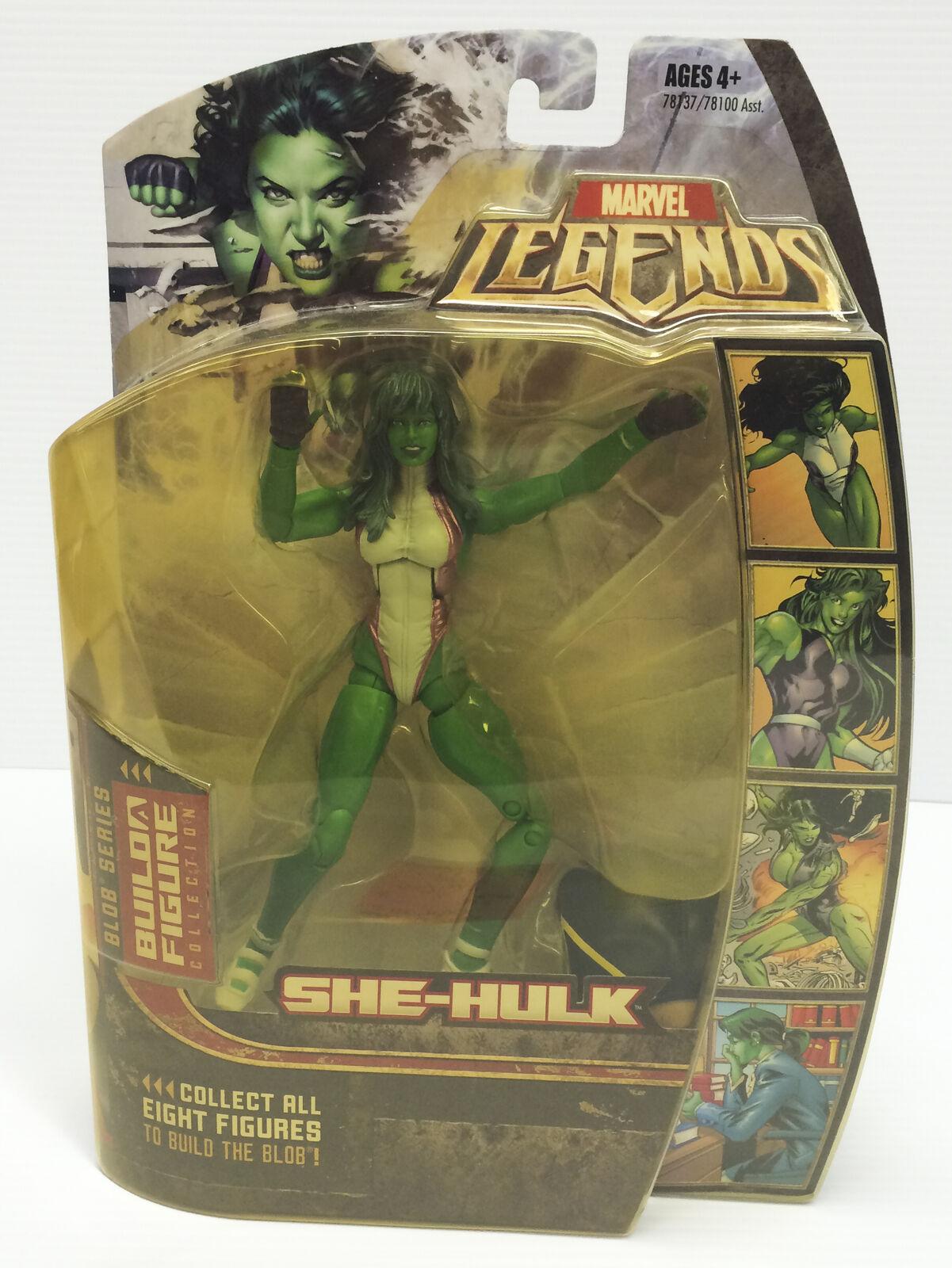 Marvel Legends SHE-HULK Hasbro Action Figure BAF BLOB - NIB Cleaned